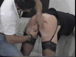 mature old lexi sucks on his uneasy cock and