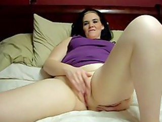 my woman fingering her sweet pussy.