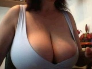 maiden pleases her giant breast