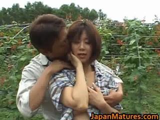 chisato shouda asian older chick gets part3