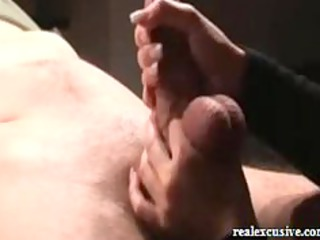 handjob from belgium, starring my woman