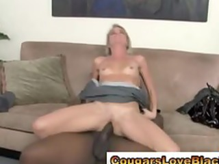 grown-up interracial angel obtains drilled