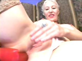 naughty cougar takes anal!