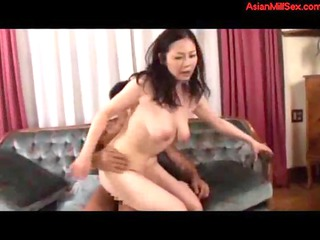 lady sucking man taking her hirsute slit pierced