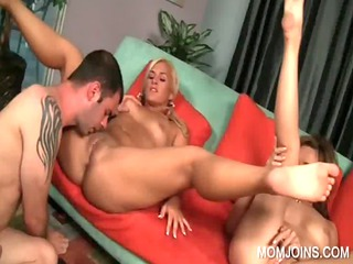 milf and amateur obtain cunt licked