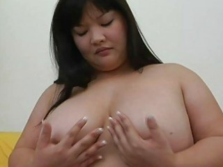 large eastern momma with large tits pleases with