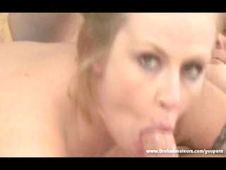 fresh woman deep oral dick licking and cumshots