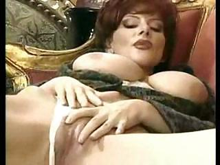 grown-up european lady drilled