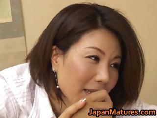 slutty japanese grown-up girls licking part1