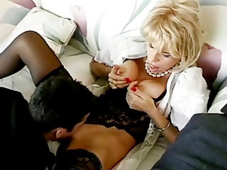 blond cougar lady buttsex with young male