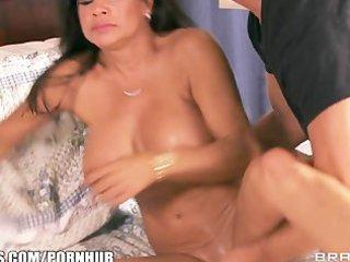 slutty brunette mom teri weigal has her wet slit