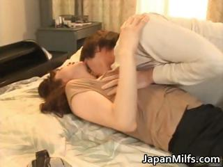very naughty japanese milfs licking part1
