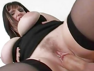 cheating giant breasted lady takes titty drilled