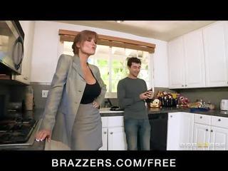 awesome bigtit rufous woman slut saleswoman fucks