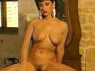 cougar lady gives a cock sucking after having a