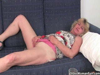 fuckable grandma spreads her old pussy bulky