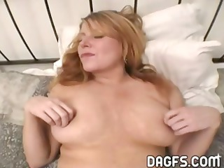 desperate older chick acquires her pussy toyed