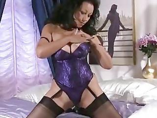 giant tits elderly stroking pussy