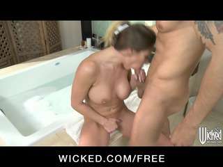 busty bigtit wife rachel roxx is caught &