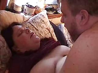 bbw housewife acquiring fucked &; titty cum