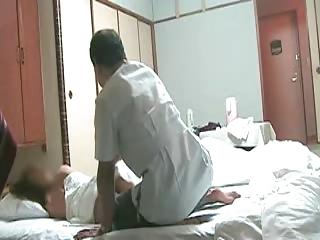 busty japanese maiden needs massage