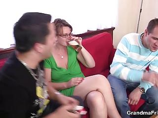 older angel is lured in three people