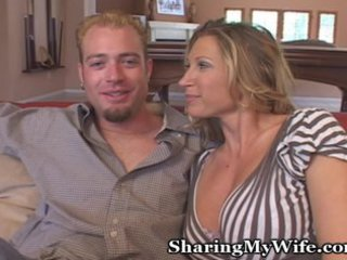 hubby and lady invite young over