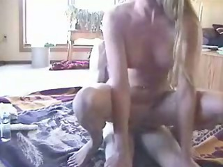 babe drives and masturbates with plastic cock