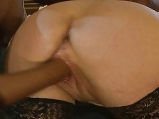 cougar sonja muere fisted into arse