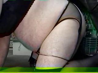 naughty biker slut part 2:the butt fucking