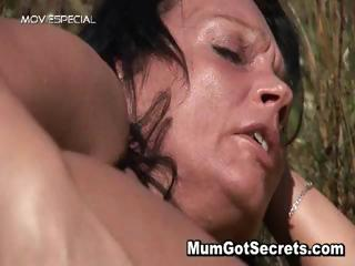 horny lady acquires banged hard outdoor part5