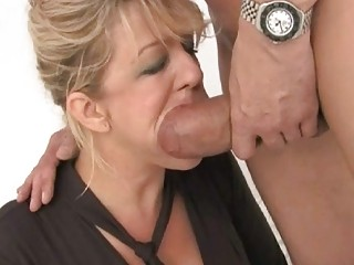 good looking desperate woman had dual drilled