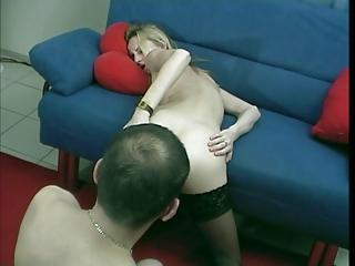 german little bleached woman fresh butt