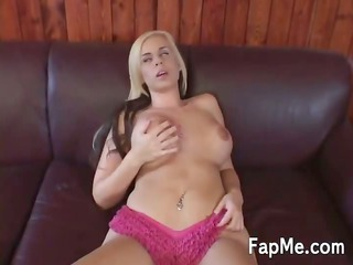 large tit angel is addicted to a big cock