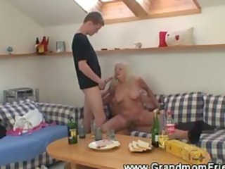 gangbanging elderly three couples with tasting