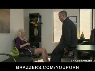 big tit bleached mature lady wife into nylons