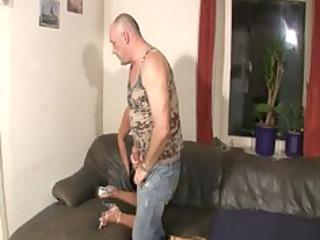 german slut fucked by old heavy man
