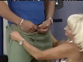 insane elderly babe obtains fucked difficult into