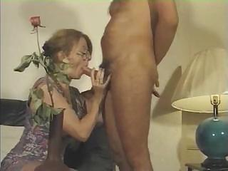 french woman licks his cock and takes drilled on