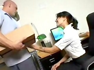 office seductions older lady