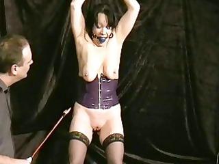 crying mature slavegirl chinas ballgagged electro