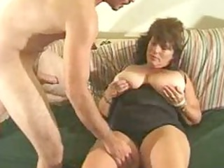cougar bbw fucked on the furniture