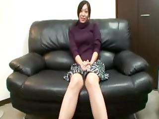 busty oriental mature is pleasing camera