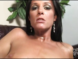 cuckold adore to shaved his wife covered by ebony