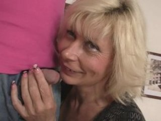 blonde milf seduces her son inside law