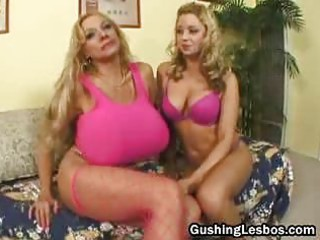 mature lesbo bitch gets gang-banged with fuck