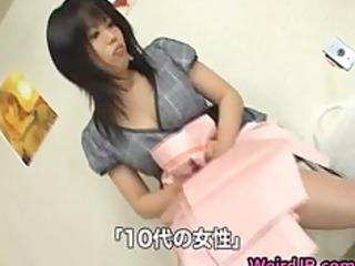 eastern woman is examining feminine workers part5
