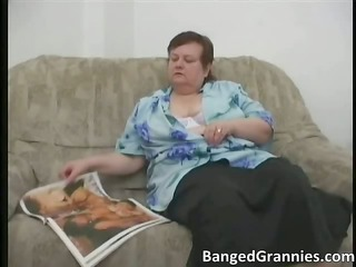 chubby mature babe slut with big tits obtains