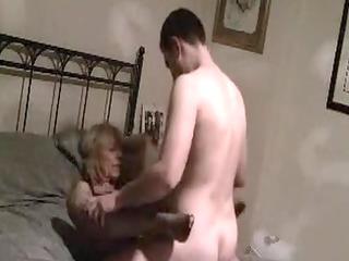 older mom fucked on secret movie scene by fresher