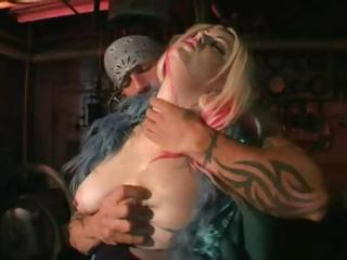 woman desperate albino licks cock deep and later